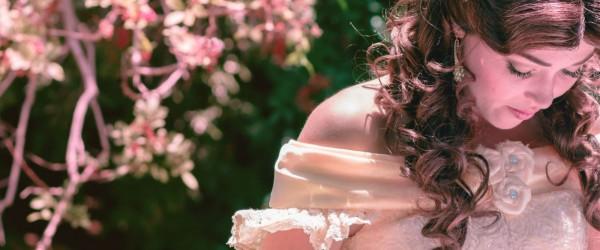 Princess in garden